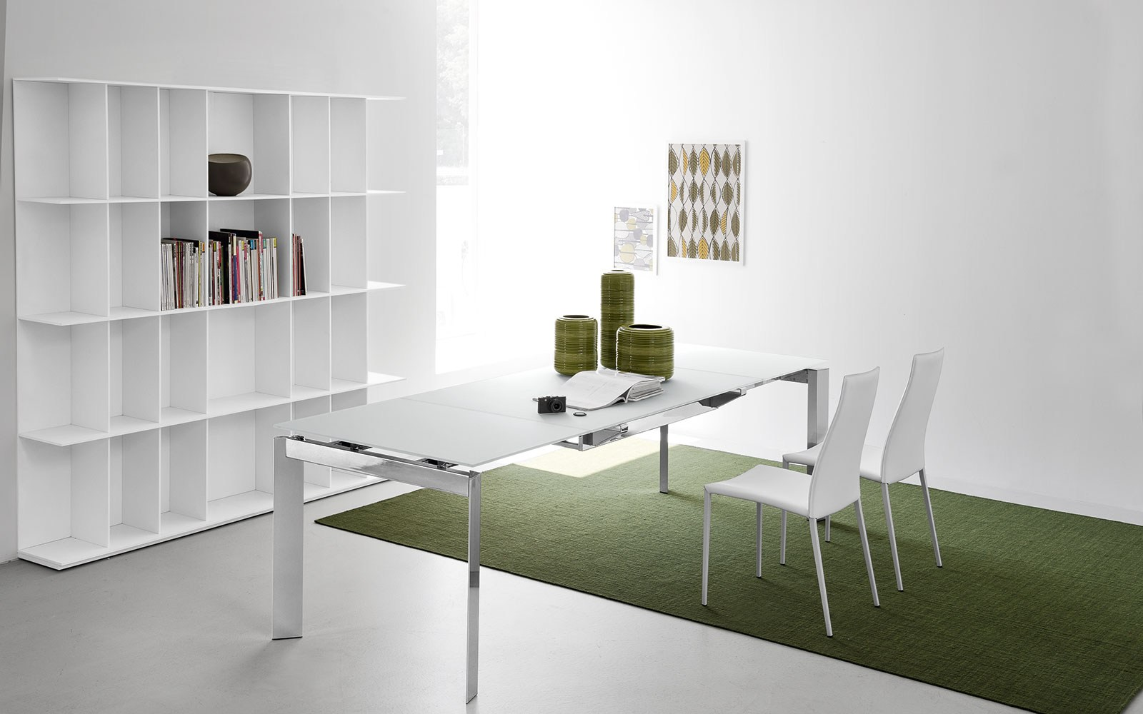 Meuble Calligaris Division Bibliothèque Double Face By Calligaris
