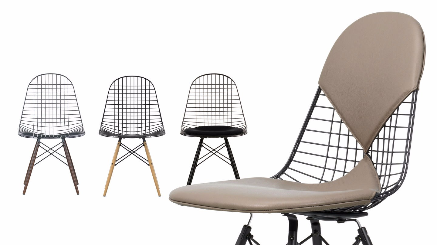 Eames Chair Bim Steel Chair Dkw 5 By Vitra Design Charles And Ray Eames