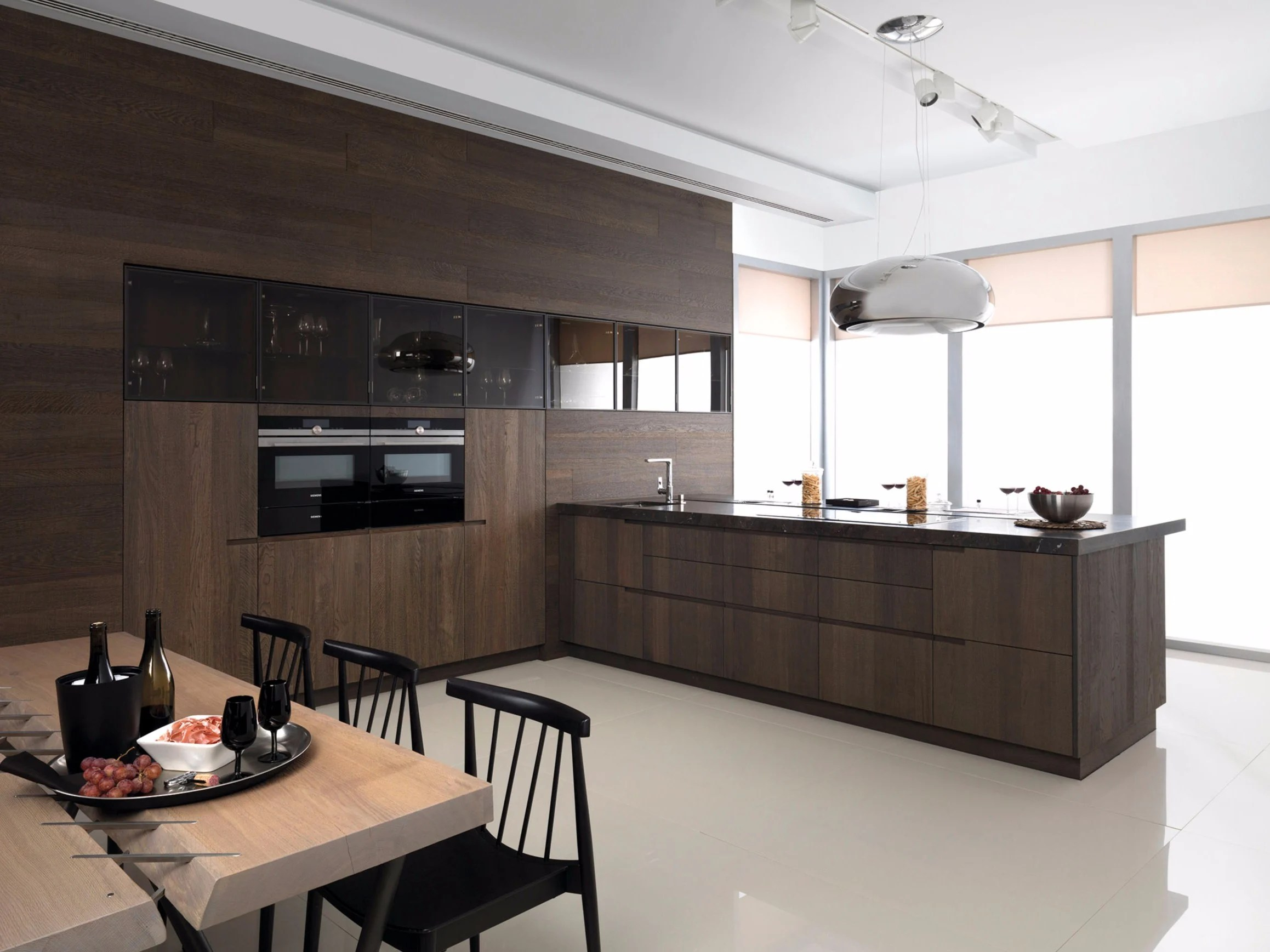 Gama Decor Cucina Componibile In Rovere Con Penisola E7 70 By Gamadecor