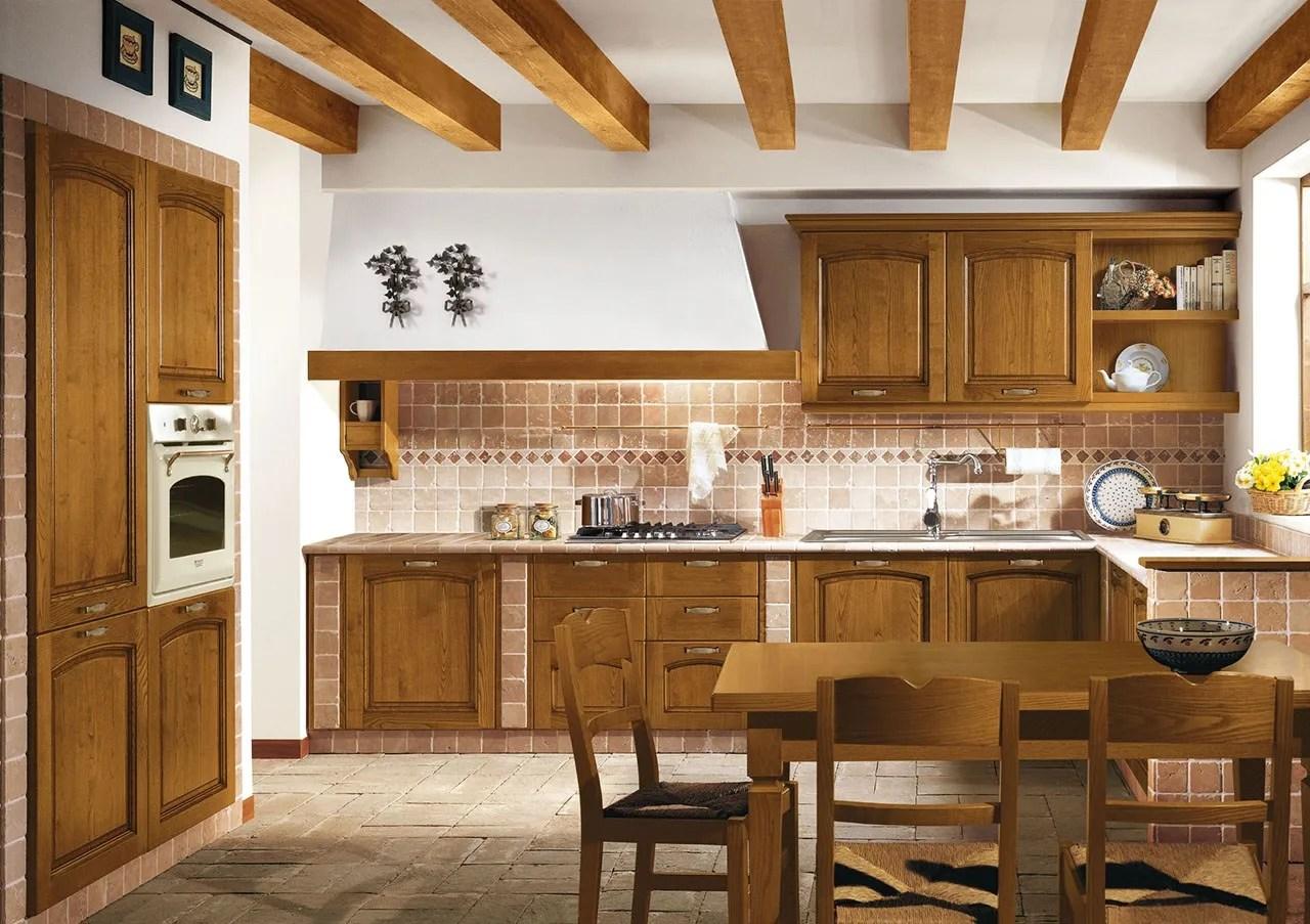 Cucina moderna in casa rustica cucina in muratura idee per