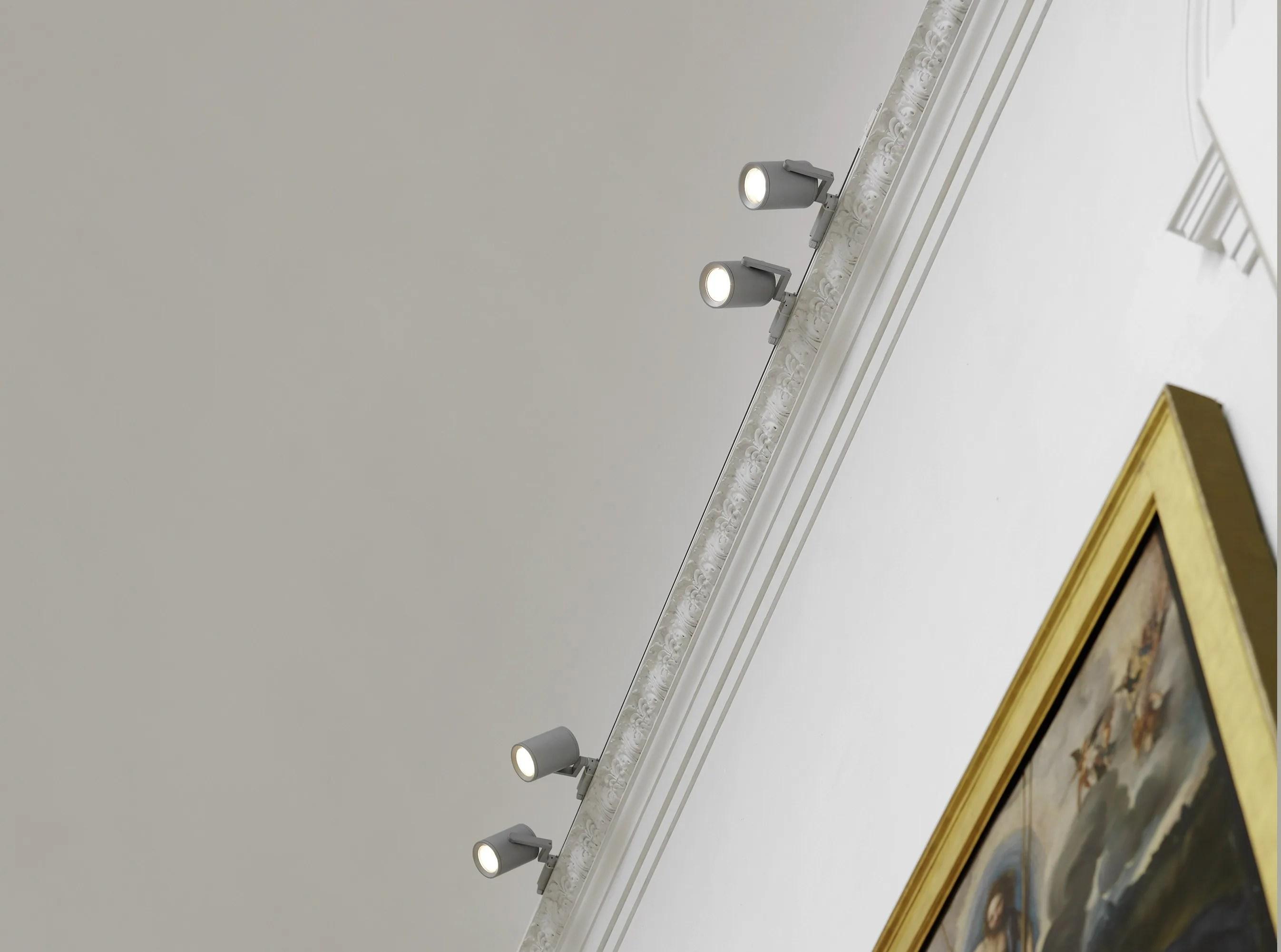 Binari elettrificati per illuminazione progetti contemplation