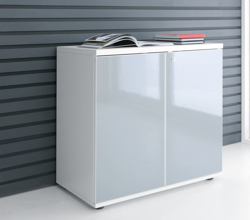 Office Storage Units Gloss Office Storage Unit By Mdd