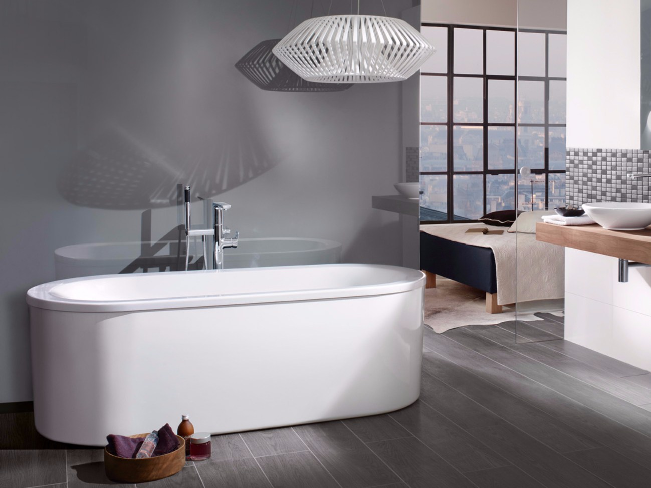 Villeroy & Boch Bagno Loop And Friends Vasca Da Bagno In Acrilico By Villeroy And Boch