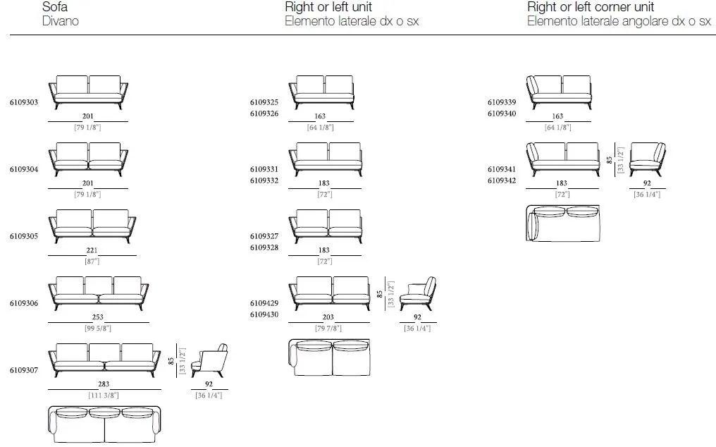 Designer Sofa Windsor Arketipo | Hwsc.us Design Sofa Plat Von Arketipo Mit  Integriertem