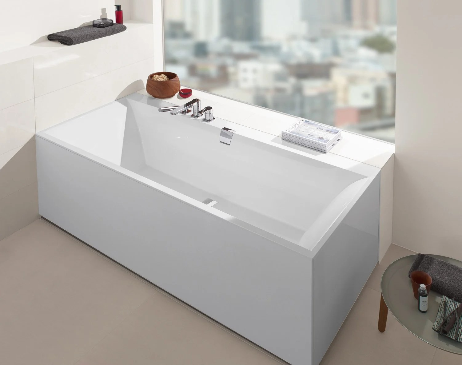 Villeroy & Boch Bagno Squaro Edge 12 Bathtub By Villeroy And Boch