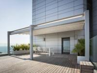 A4 Wall-mounted pergola by KE Outdoor Design