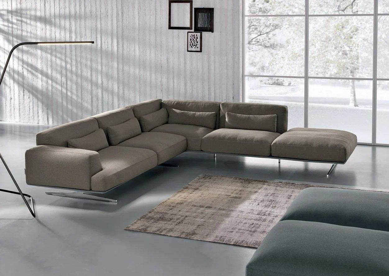 Max Divani Leather Sofa Albachiara Fabric Sofa Albachiara Collection By Max Divani