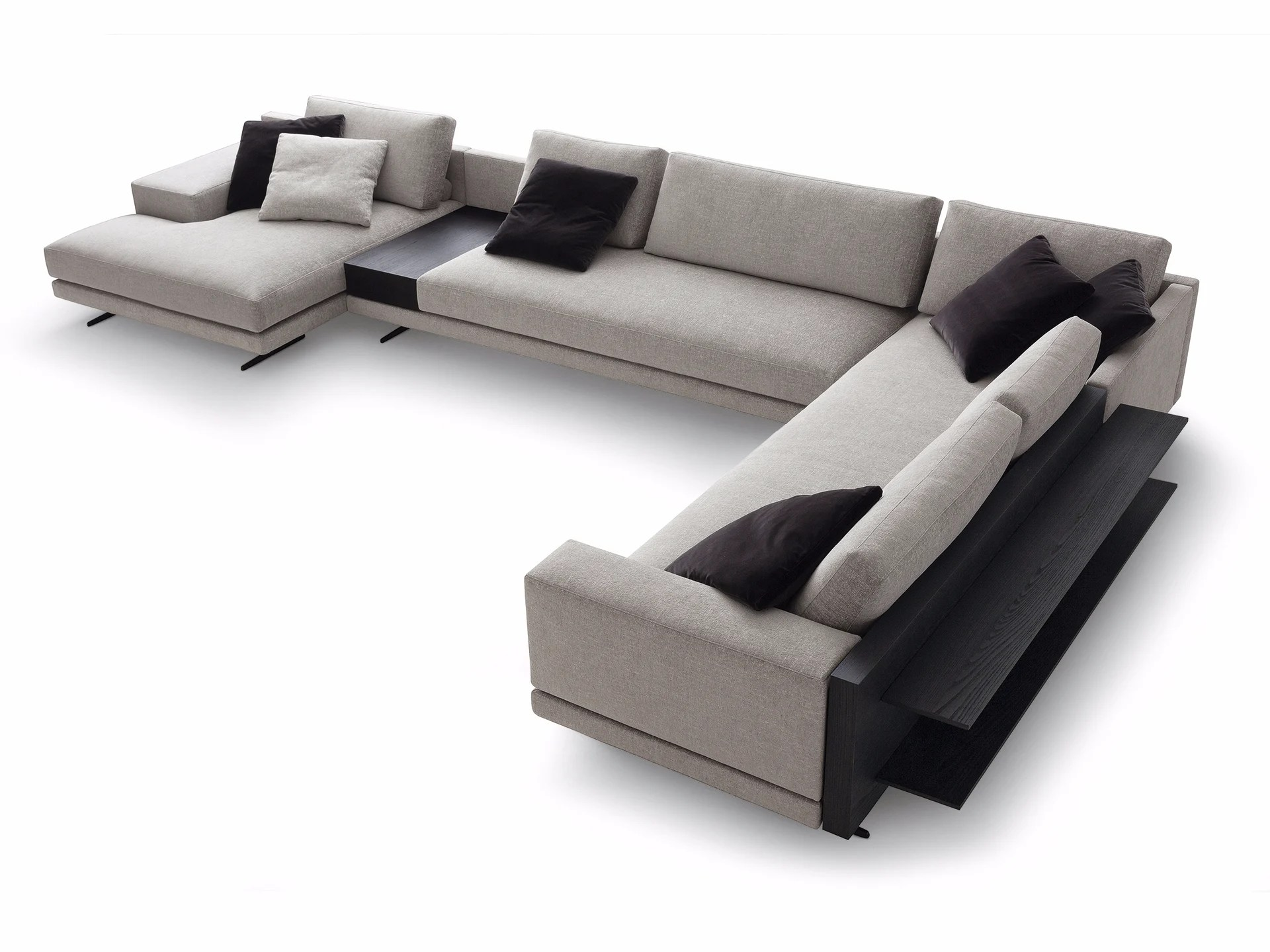 Retro Sofa Bristol Mondrian Corner Sofa Mondrian Collection By Poliform