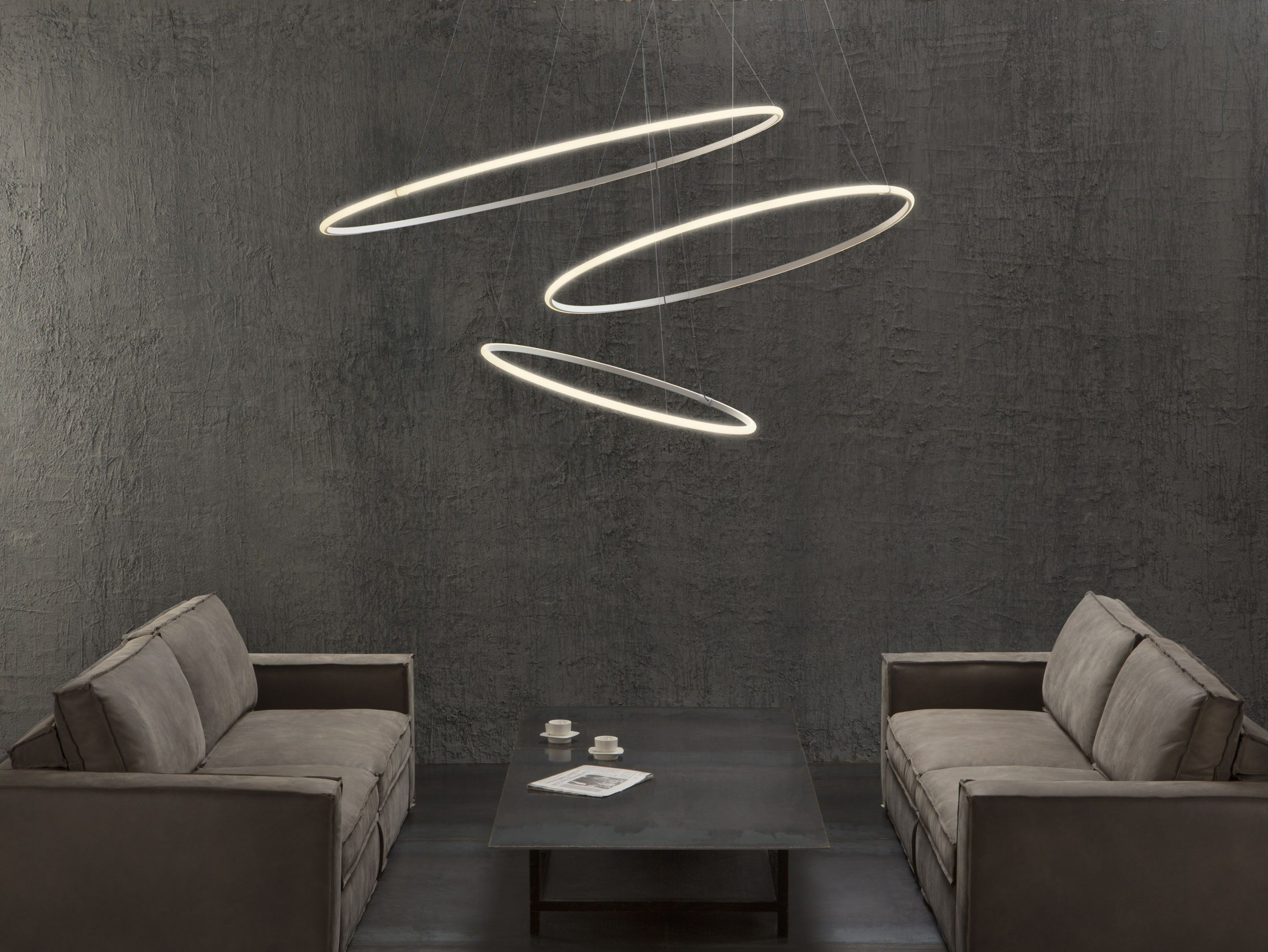 Led Wohnzimmer Lampen Led Pendant Lamp Olympic F45 3x By Fabbian Design Lorenzo