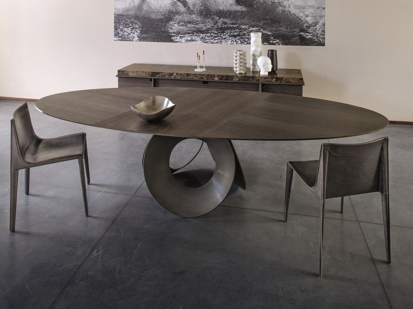 Table Ovale Oracle Oval Table By Arketipo Design Gino Carollo