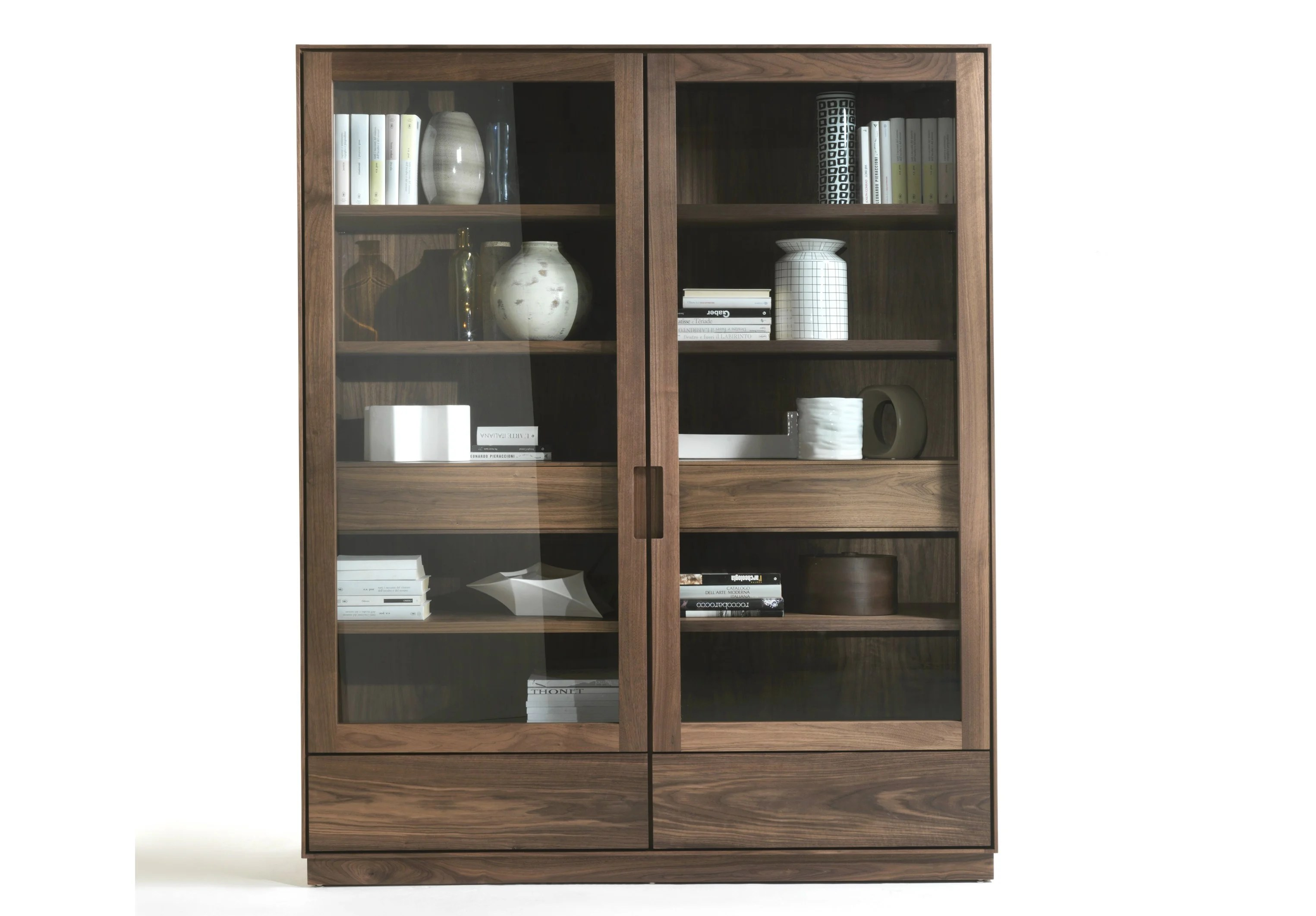 Modern Display Cabinet Solid Wood Display Cabinet Colonia 2013 By Riva 1920