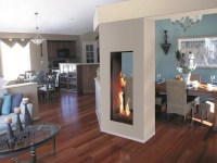 ROMA Double-sided Fireplace insert by ITALKERO