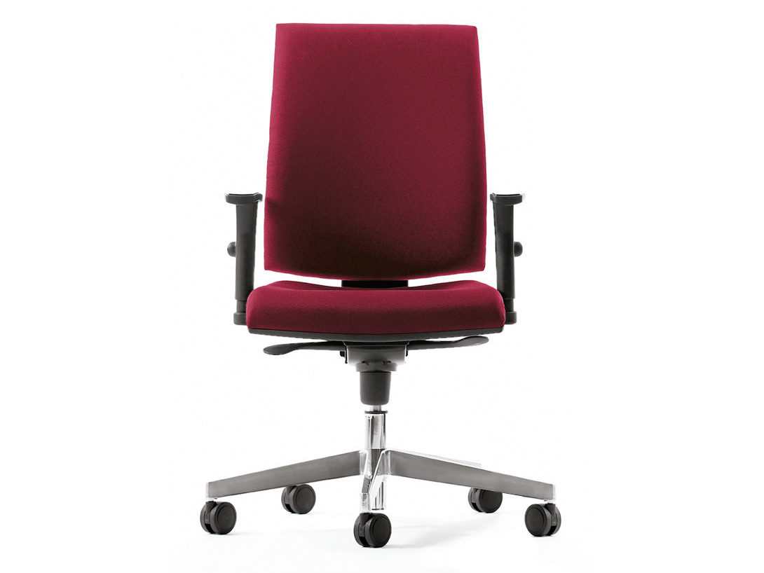 Task Chair Without Wheels Task Chair With 5 Spoke Base With Casters Pratika