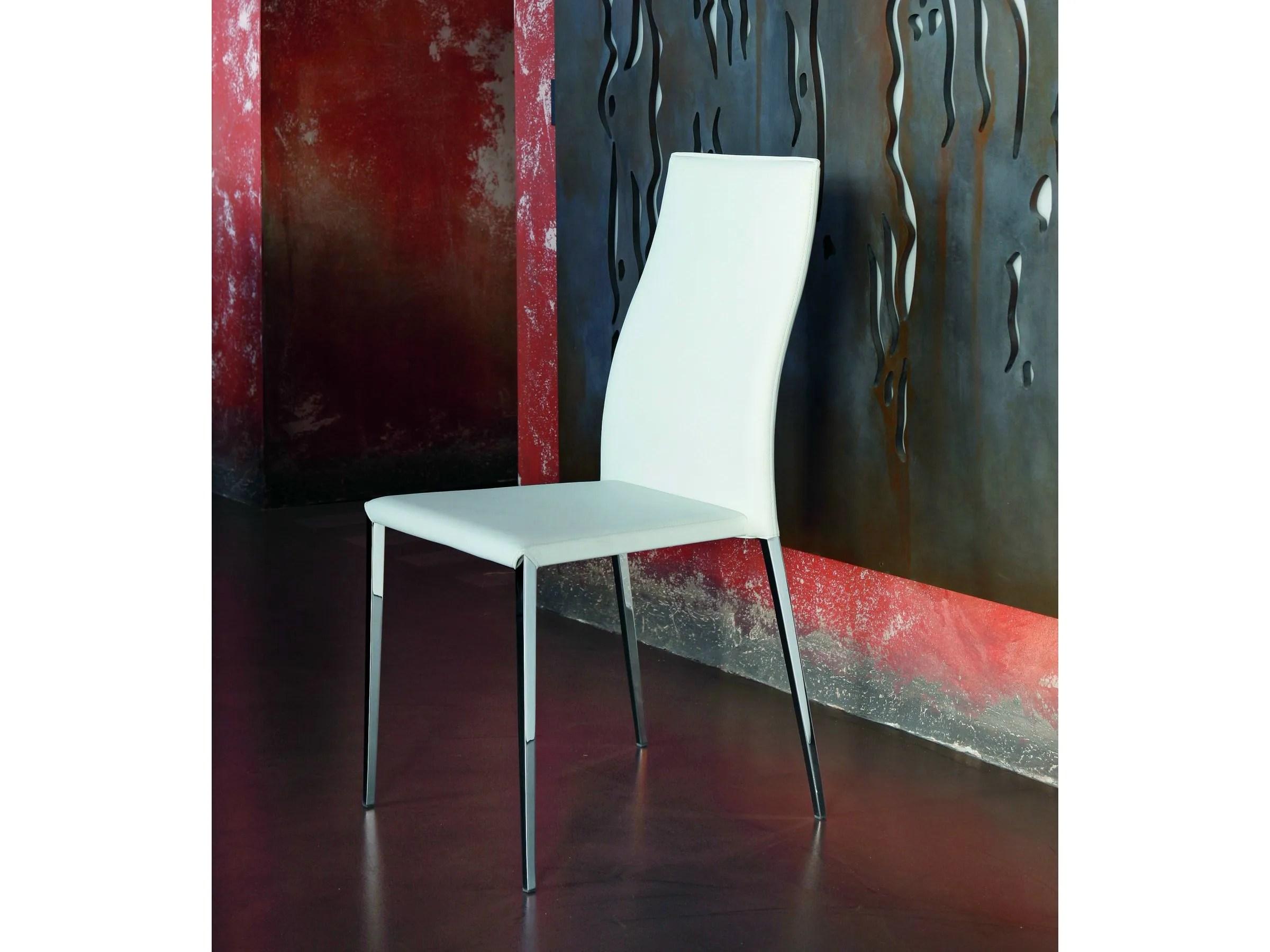 Sedia bontempi cuoio prezzo sedia moderna da soggiorno kefir di