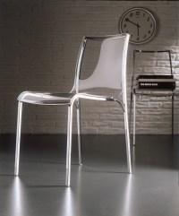 Acrylic glass chair YOGA by Bontempi Casa design Daniele ...