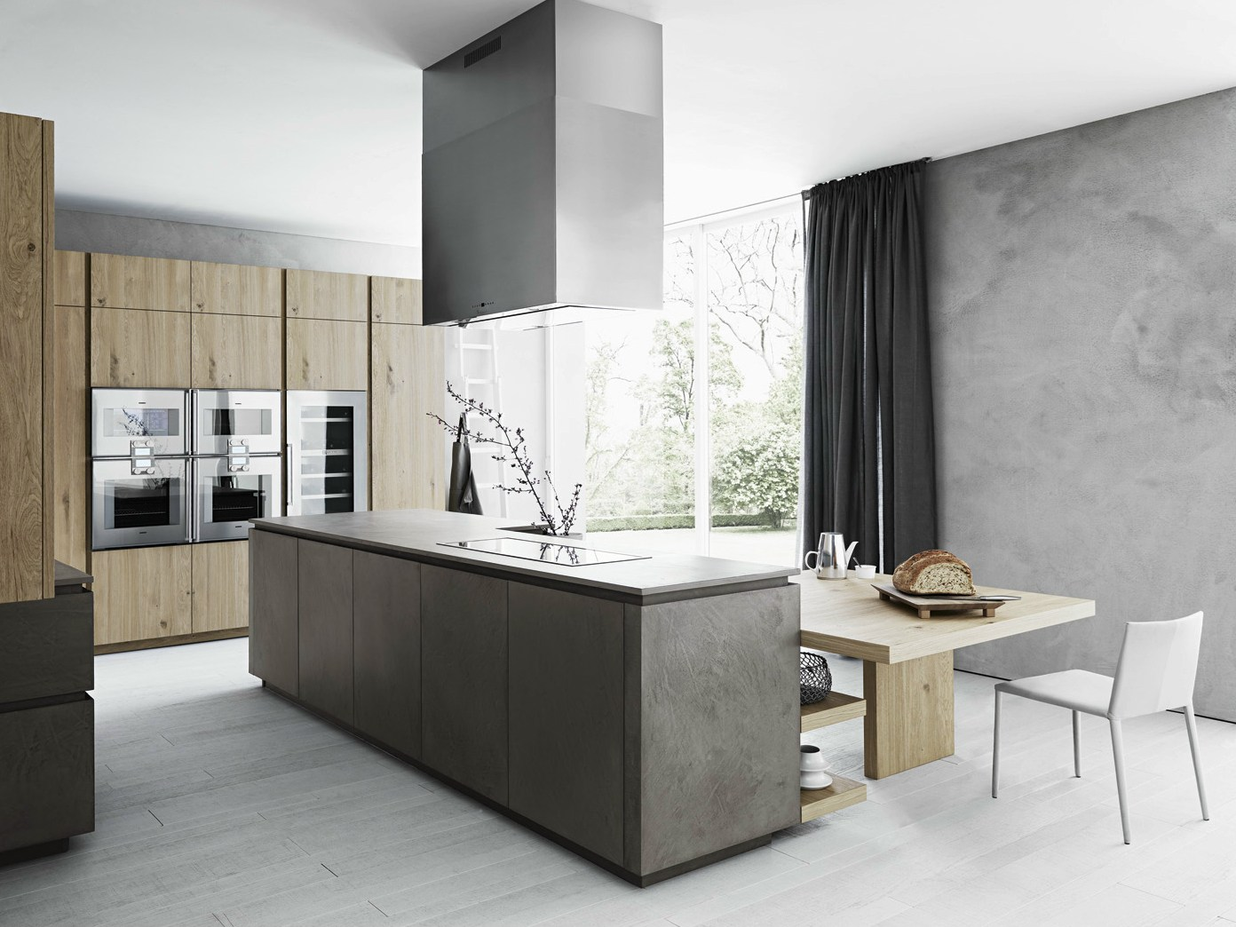 Cesar Kitchen Fitted Kitchen With Island Without Handles Cloe
