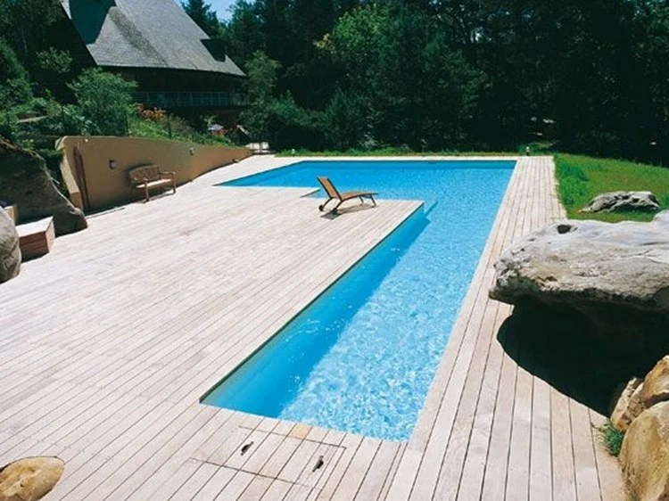Desjoyaux Piscinas In-ground Swimming Pool Desjoyaux L-shaped Swimming Pool