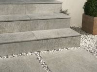 Porcelain stoneware outdoor floor tiles DUAL STEP by ...