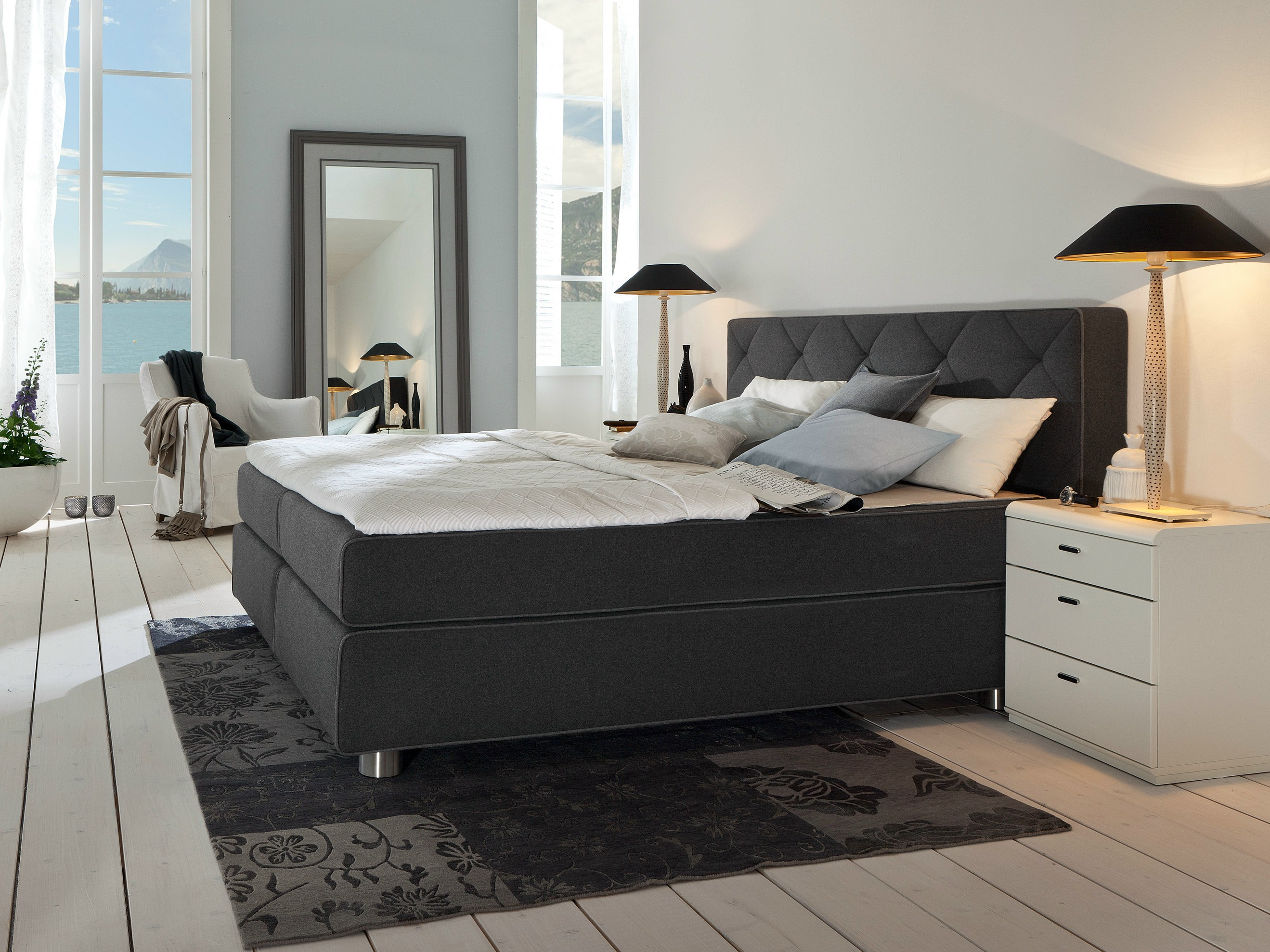 Boxspring Bed Boxspring Suite Design Bed By Hülsta Werke Hüls