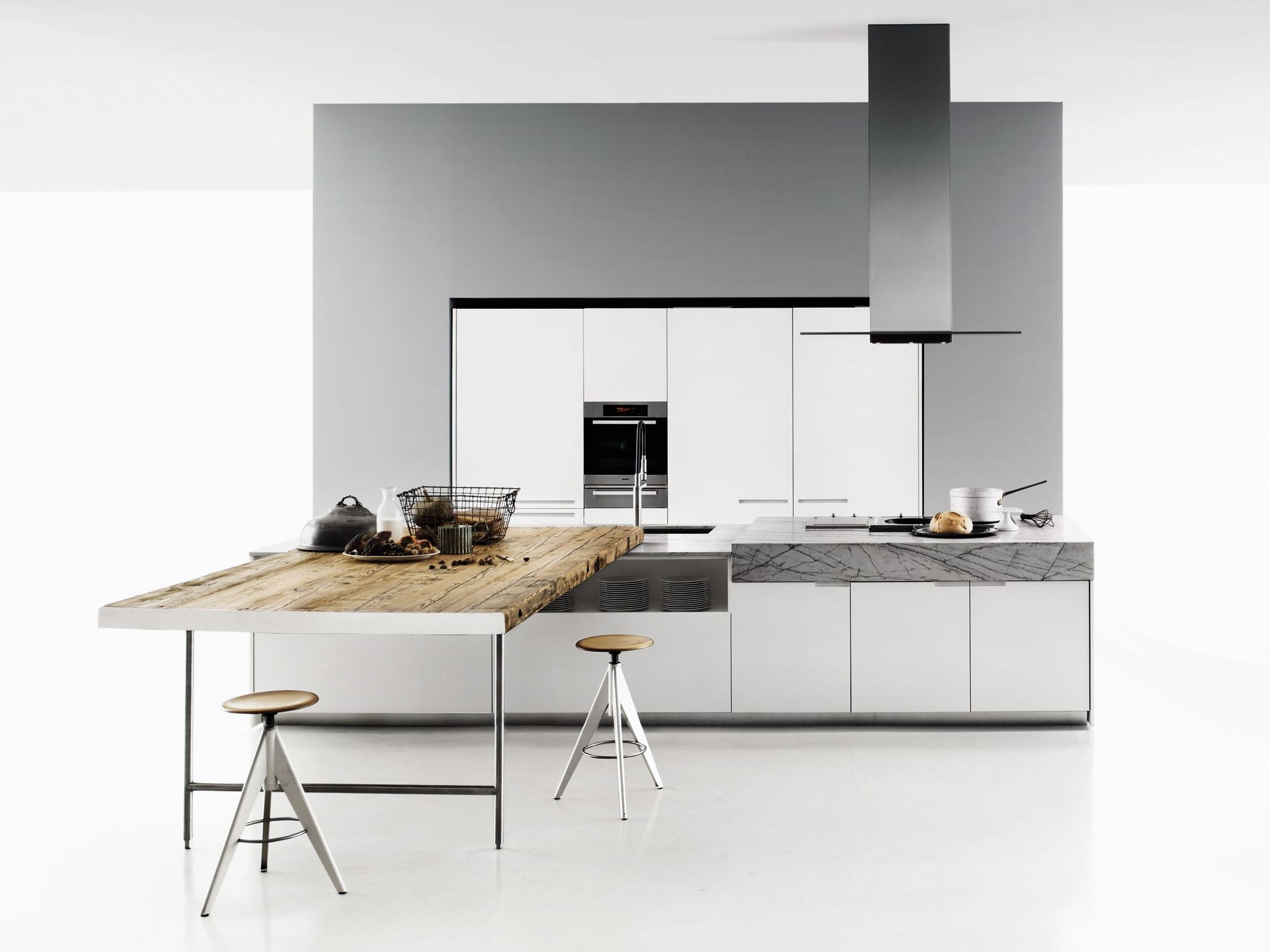 Cuisine Boffi Kitchen With Island Duemilaotto By Boffi Design Piero Lissoni