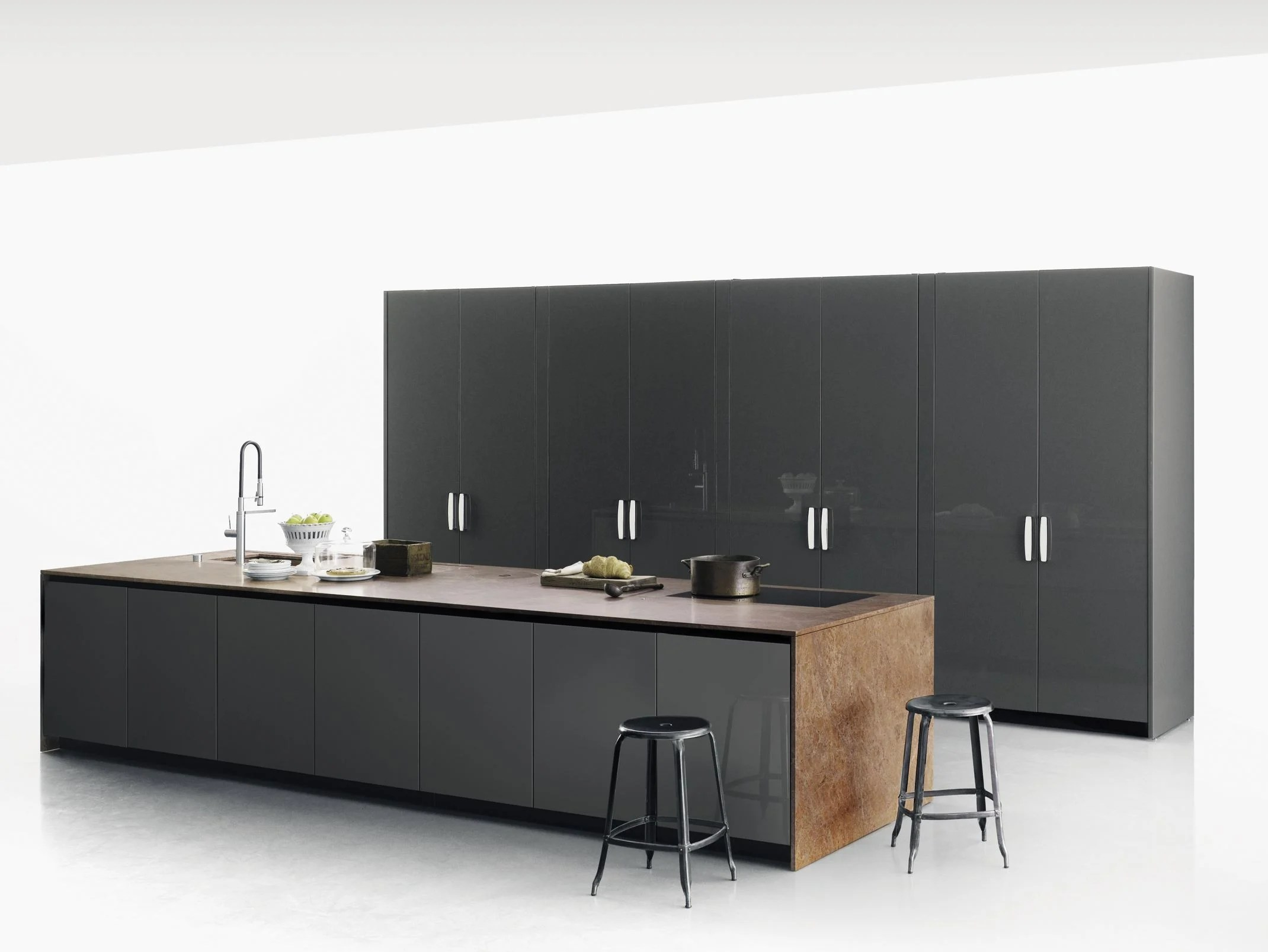 123 Top Cuisine Stone Kitchen With Island Xila By Boffi