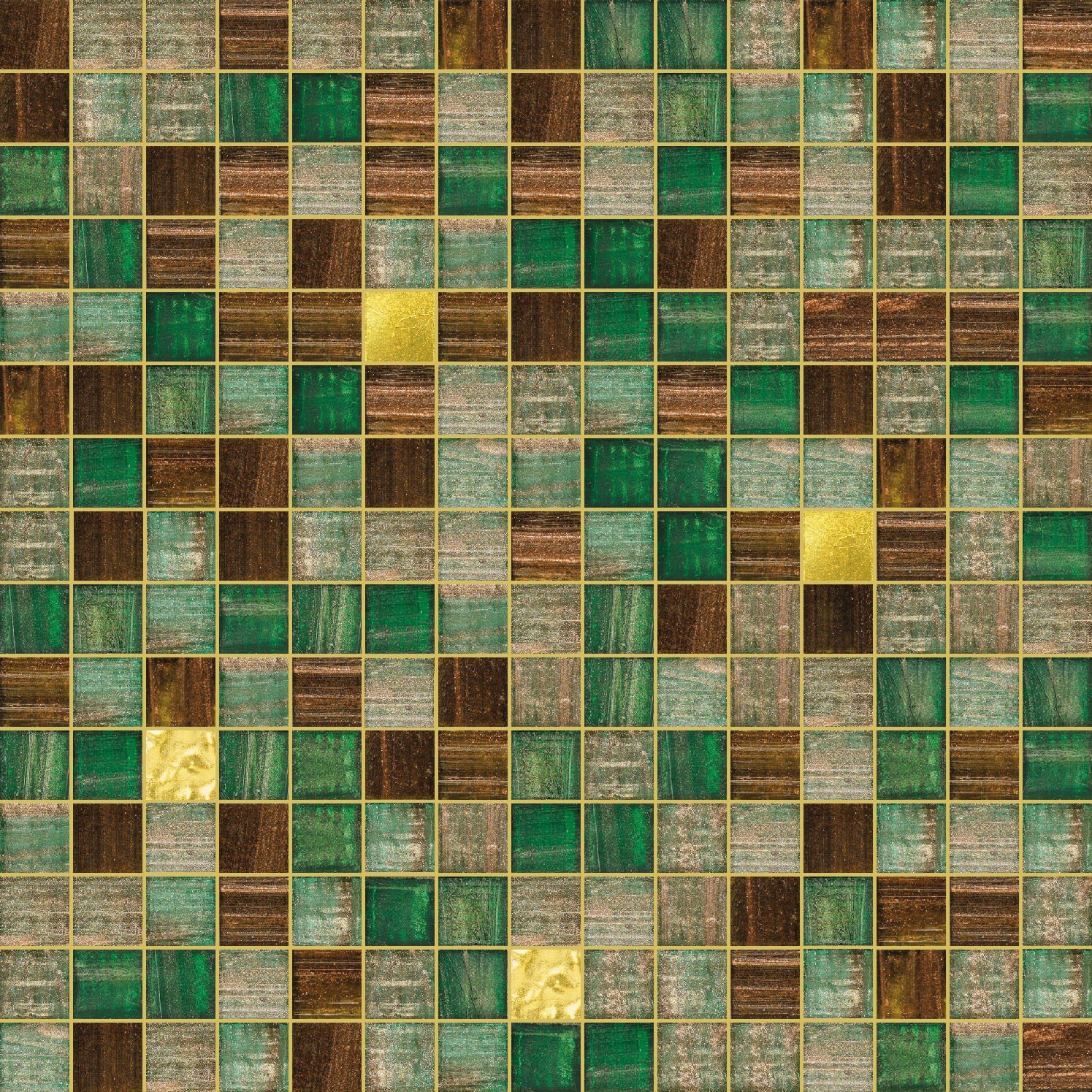Trend Mosaik Glass Mosaic Mix 2x2 By Trend