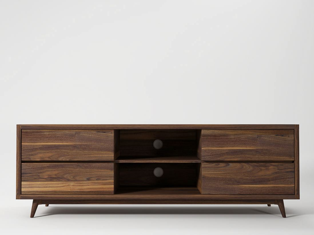 Tv Möbel Holz Vintage Tv Möbel By Karpenter Design Hugues Revuelta