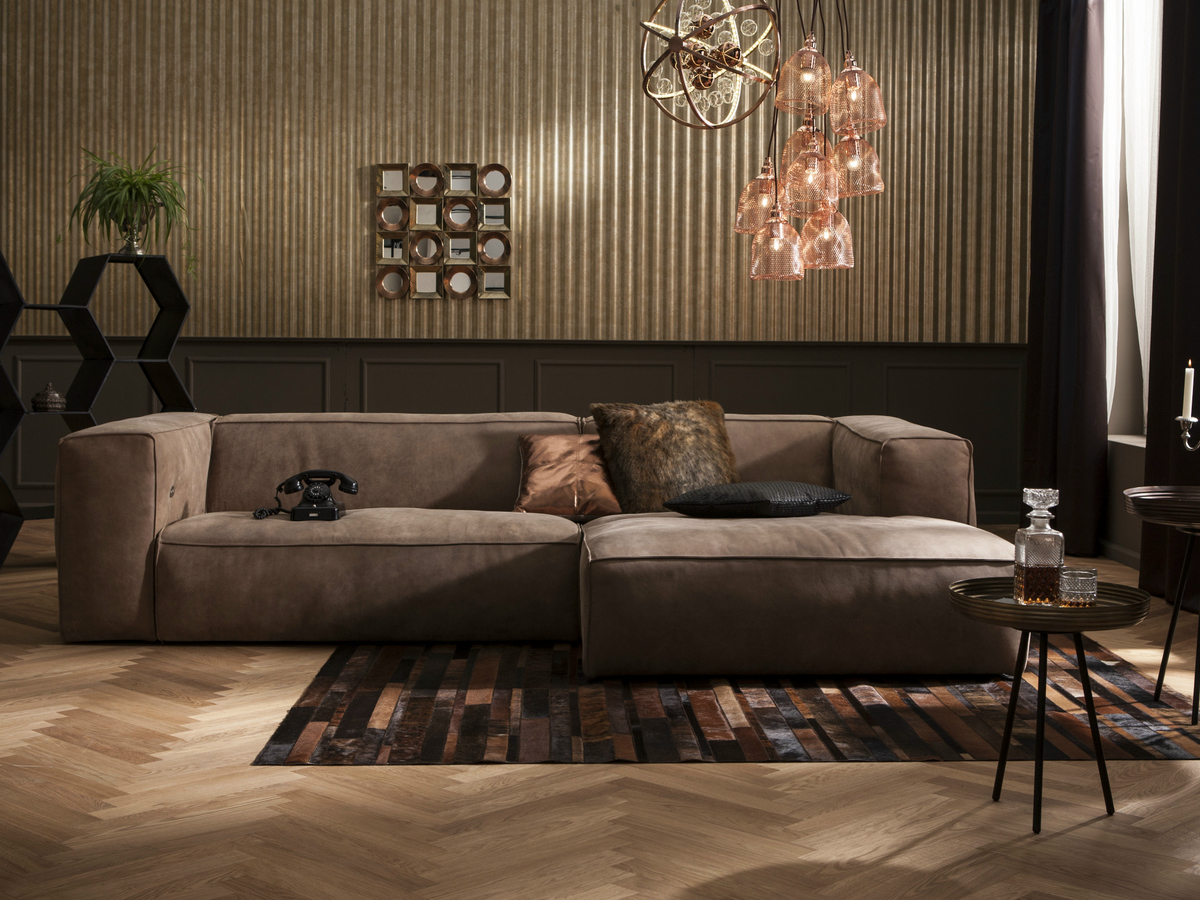 Kare Designe Leather Sofa Mocca Collection By Kare Design