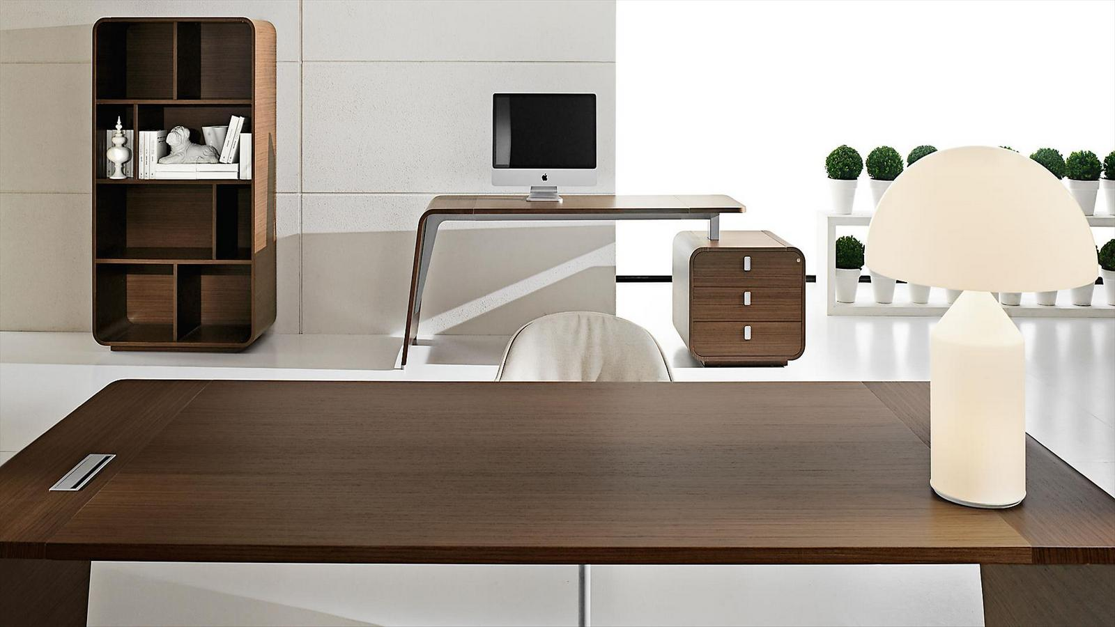 Scrivania Cavour Sestante Office Desk With Drawers By Ift Design Nikolas
