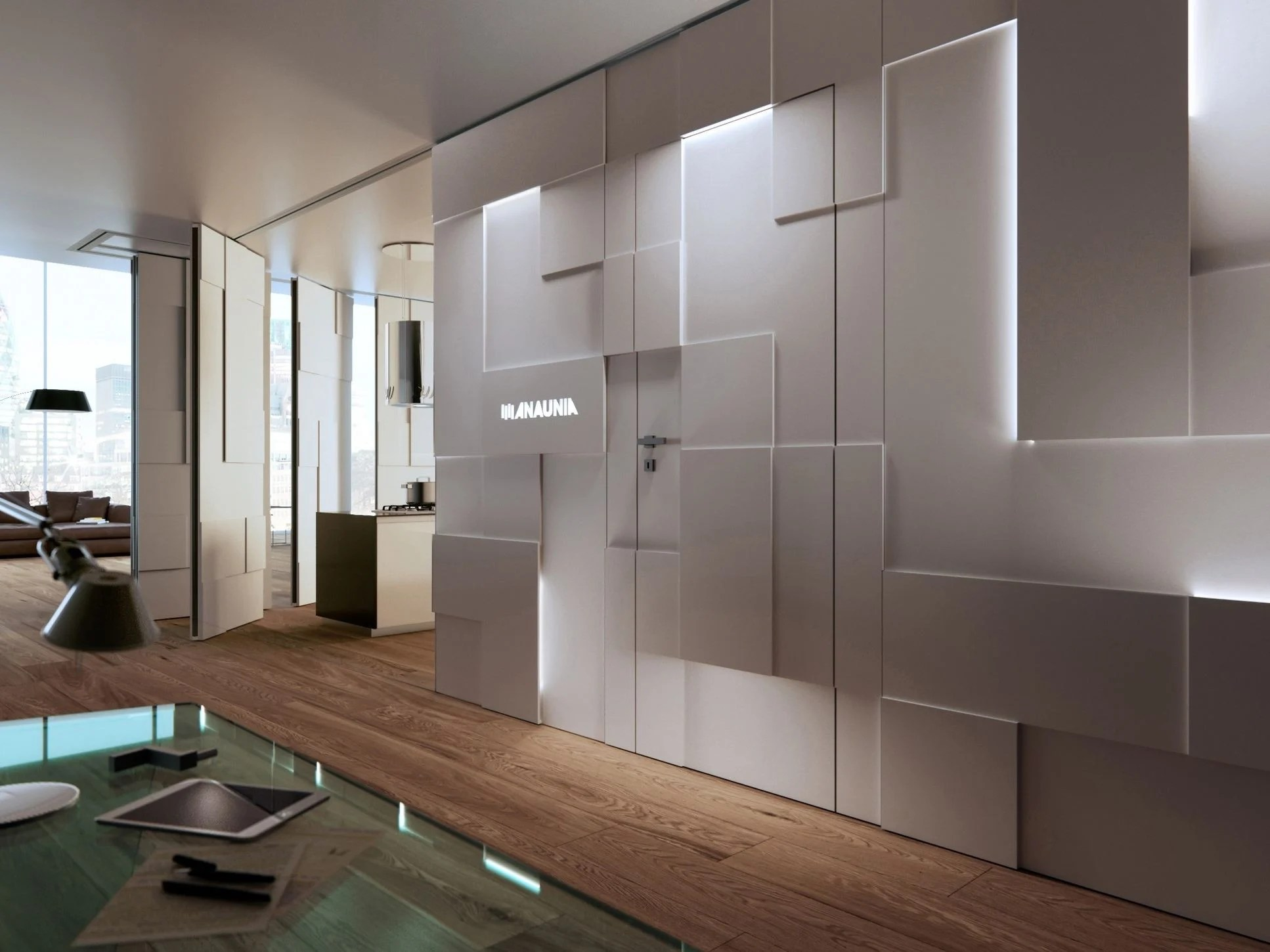 Partitions Designs Operable Wall Shine Wall By Anaunia Design Tommaso Pezzi