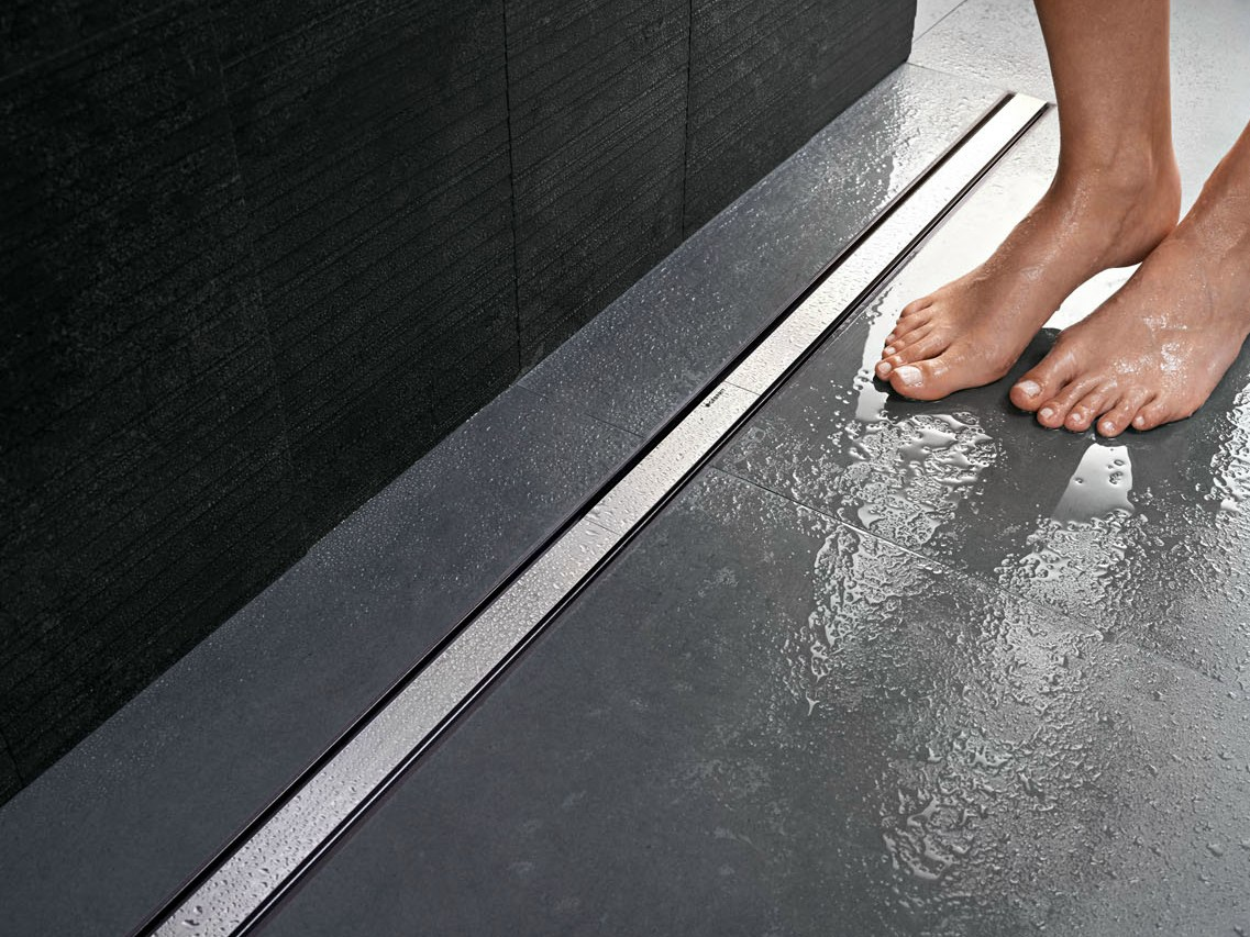 Duschabfluss Einbauen Steel Shower Channel Cleanline By Geberit Italia