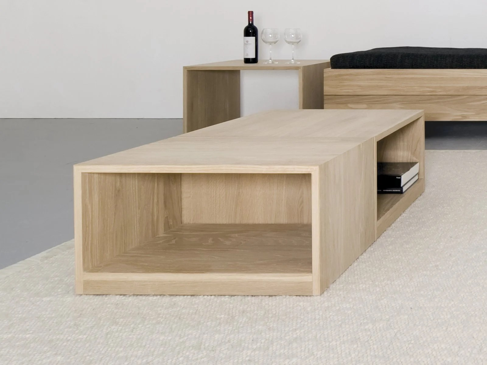 Multiplex Couchtisch Solid Wood Stool Coffee Table Relikt By Sanktjohanser