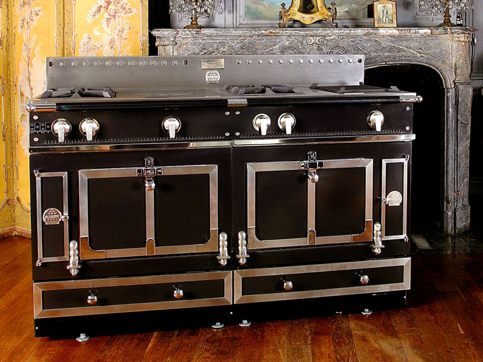 La Cornue Herd Stainless Steel Cooker ChÂteau 150 By La Cornue