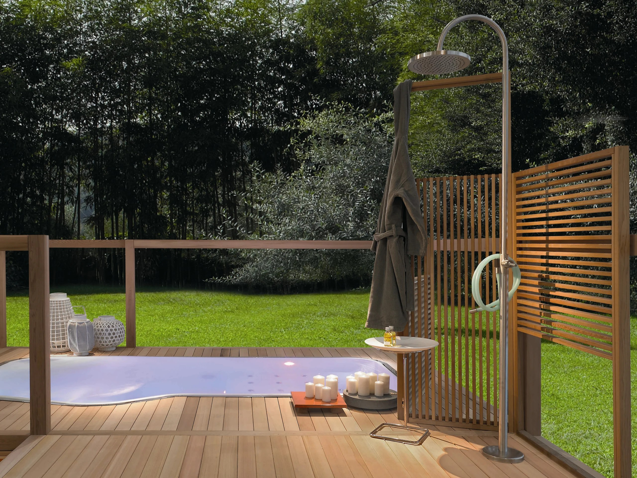 Duchas Exteriores Outdoor Shower By Zucchetti Design Ludovica 43roberto Palomba