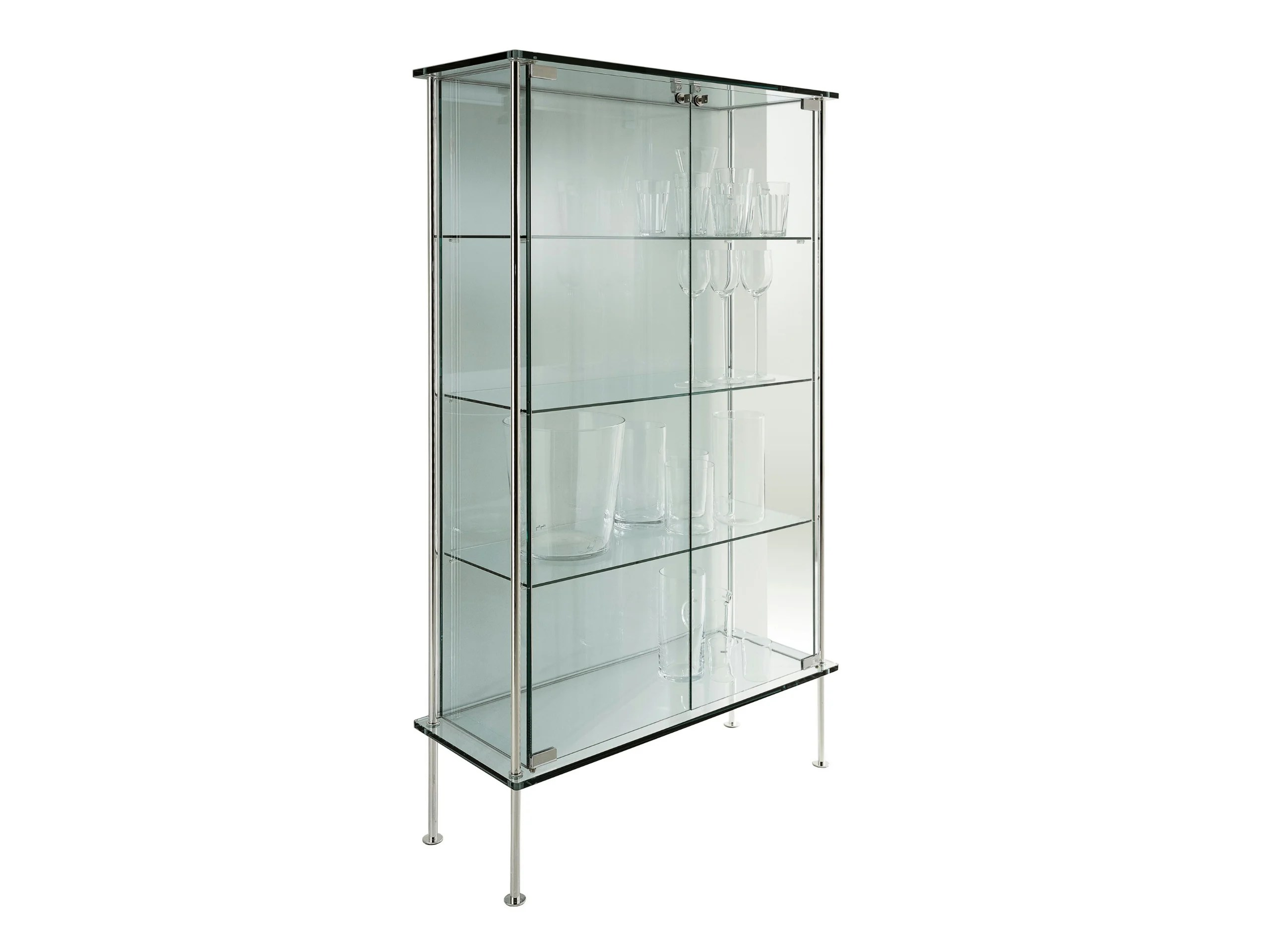 Glass Display Cabinet Glass Display Cabinet Shine By T D Tonelli Design Design