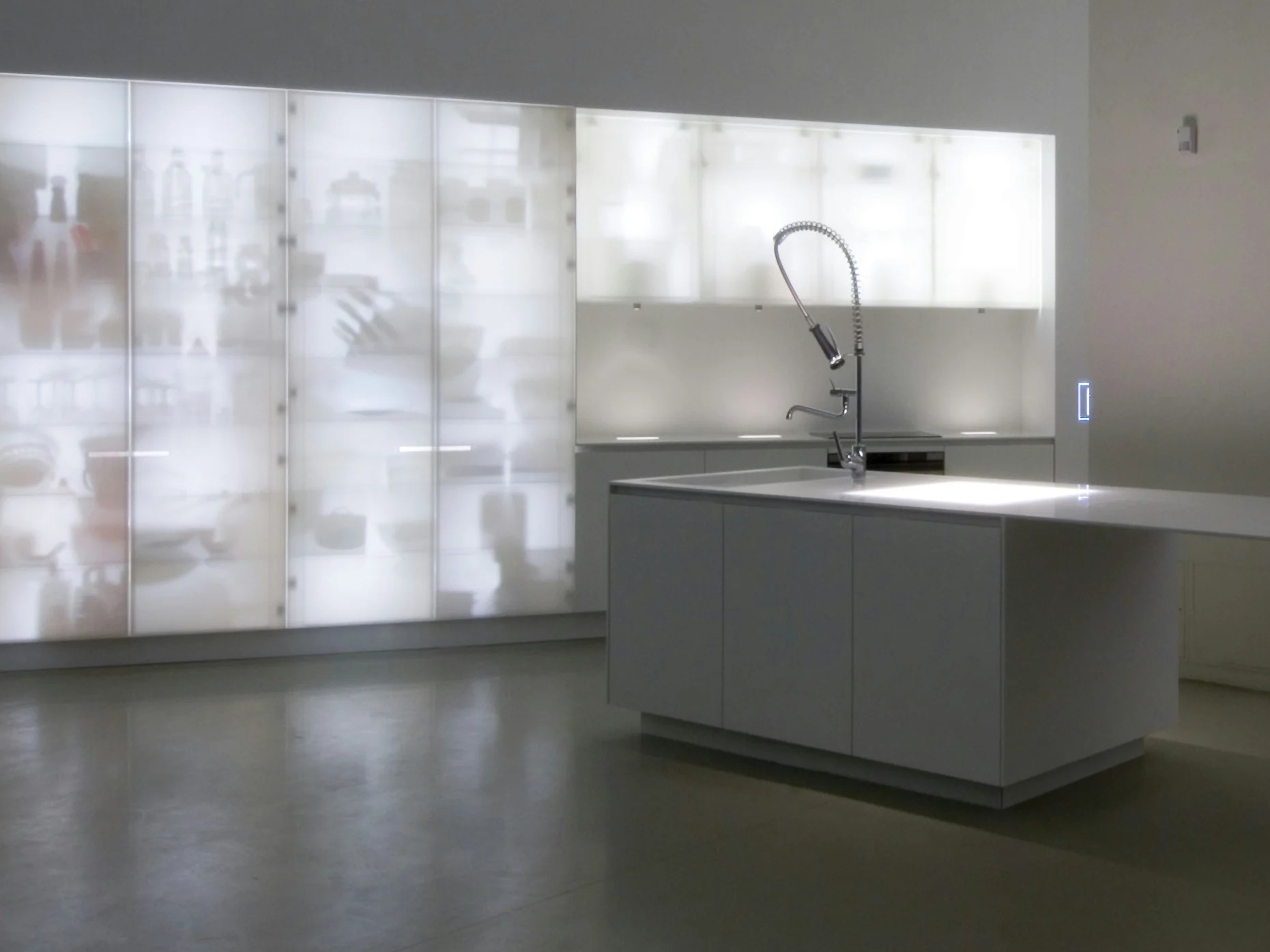 Küche Magazin Logo Corian Kitchen With Island Corian Nouvel Lumieres By