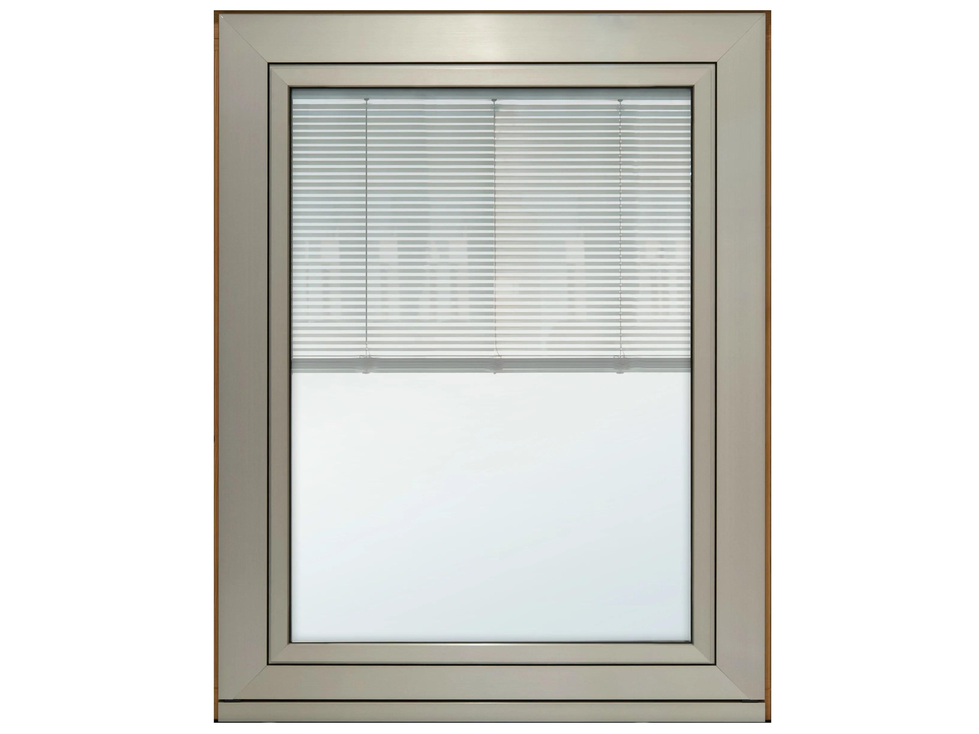 ETERNITY MAXI Fenster mit integrierter Jalousie by F.lli