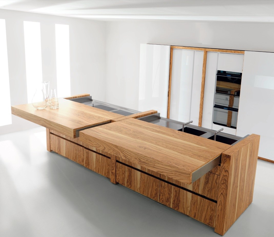Arbeitsplatte Küche Olivenholz Olive Wood Kitchen With Island Essential Wood By Toncelli