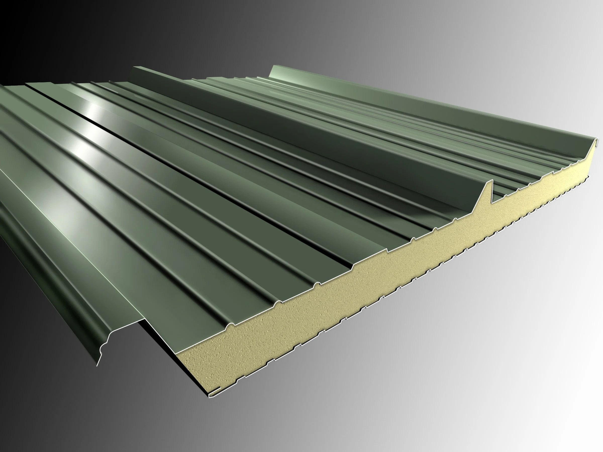 Plastic Roof For Patio INSULATED METAL PANEL FOR ROOF DELTA 3 ISOLPACK ROOF COLLECTION BY ISOLPACK
