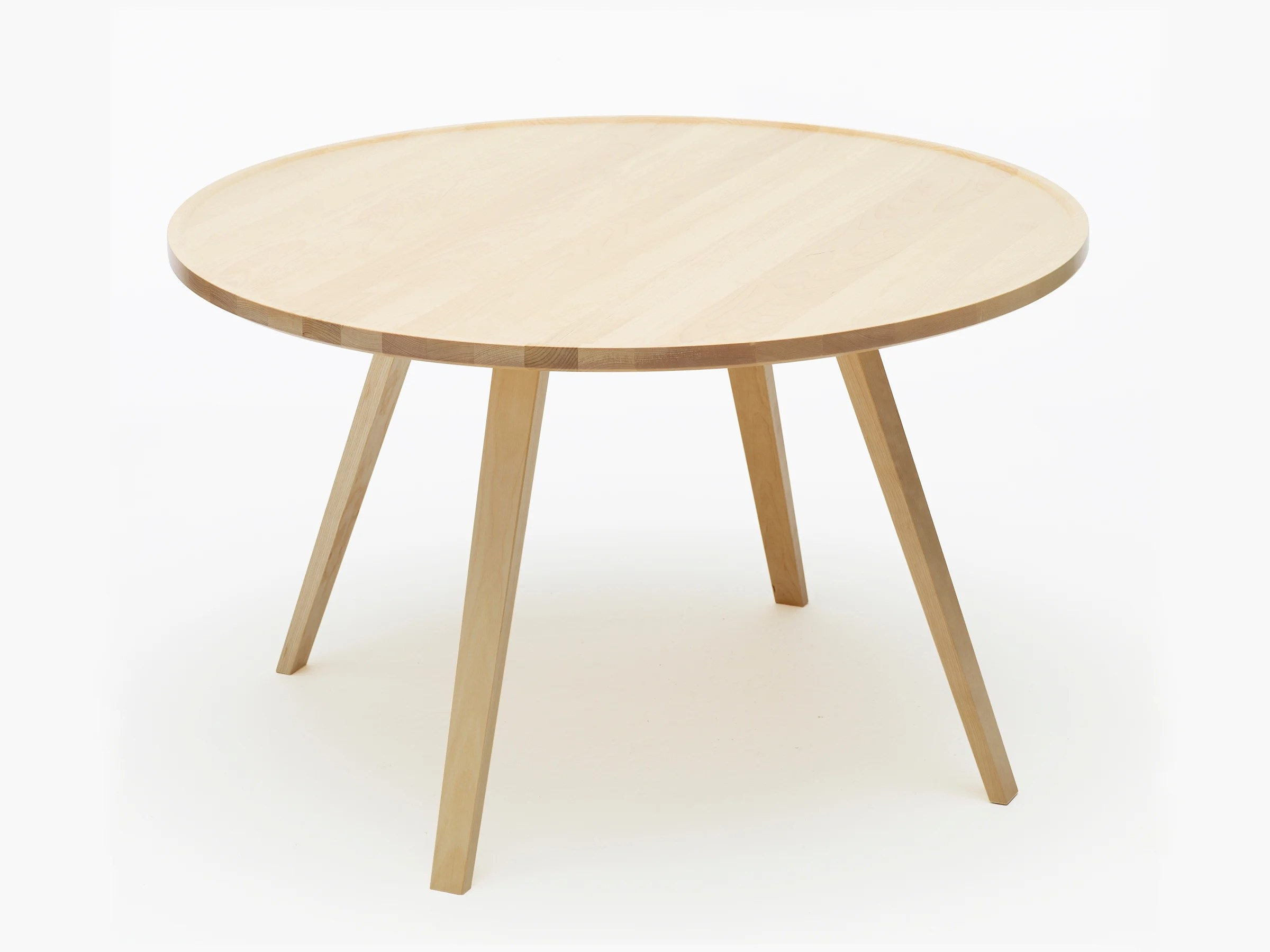Table En Teck Ronde Table En Bois Ronde Lepetitsiam