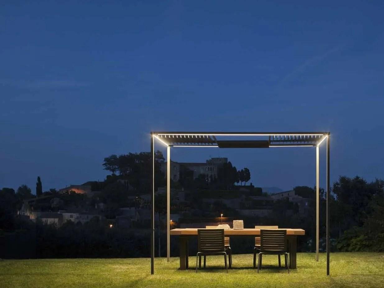 Illuminazione da giardino su palo progetti gt esterni gt arredo