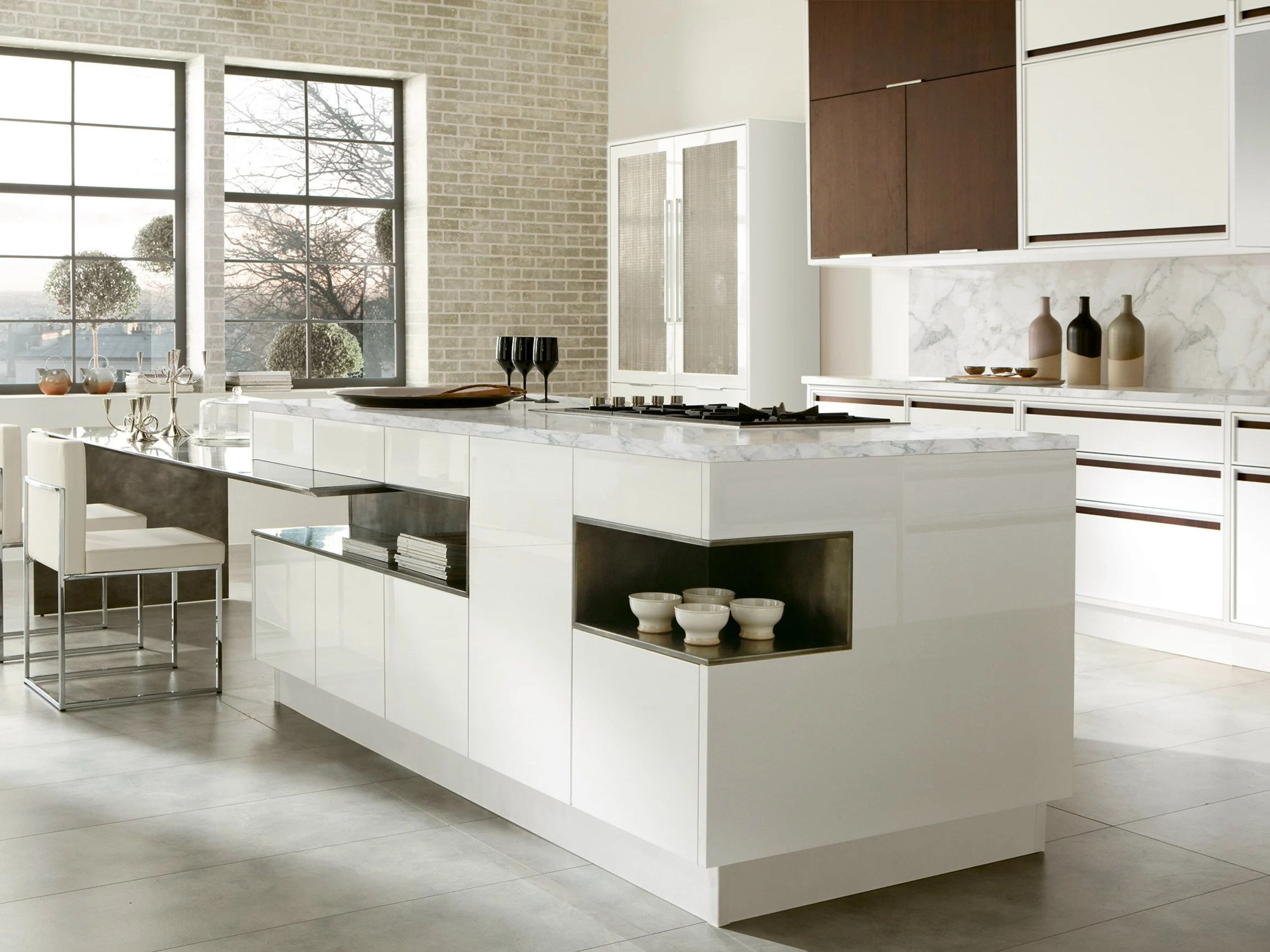 Cucina Isola Misure Timeline Cucina Con Isola By Aster Cucine S P A