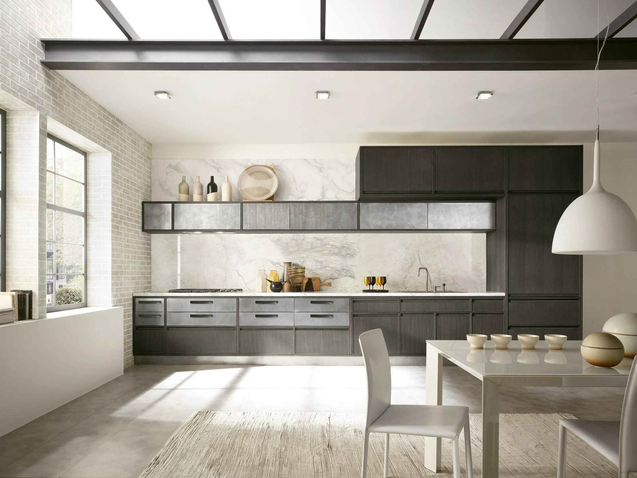 Nobilia Flash Kitchen Linear Kitchen With Integrated Handles Timeline Timeline