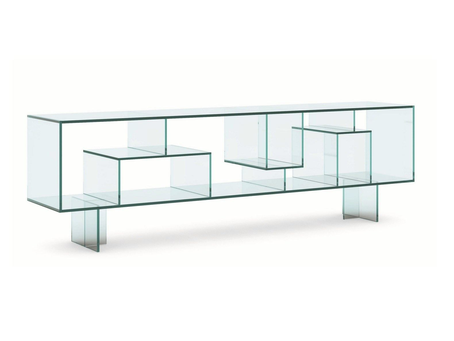 Sideboard Glas Double Sided Sideboard Aus Glas Liber M By T D Tonelli