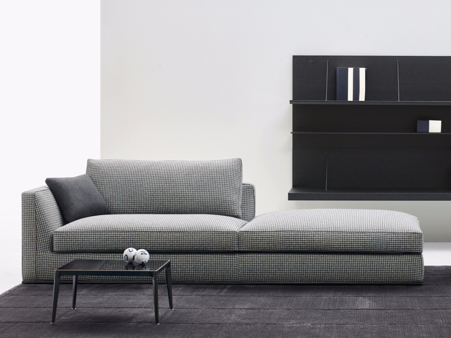 B Und B Italia Sessel Sofa Aus Stoff Kollektion Richard By B Andb Italia Design