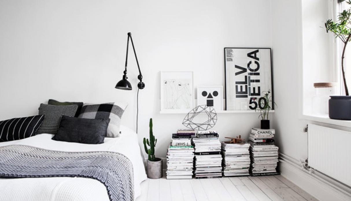 Decorar Dormitorios 6 Tips Para Decorar Con Blanco Y Negro Tu Dormitorio Foto 1 De 6