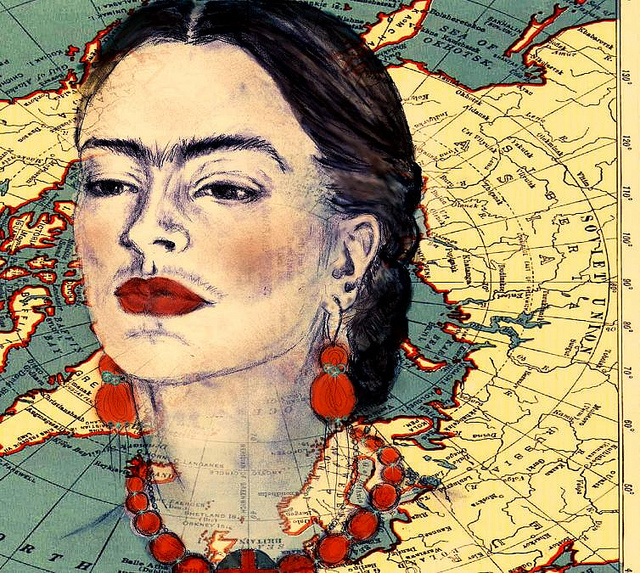 The Yellow Wallpaper Quotes About Her Journal Frida Kahlo An Icon Of Feminism Amp Freedom Elephant Journal