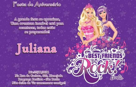 Animated Barbie Wallpaper Convite Barbie A Princesa E A Popstar No Elo7 Ateli 234