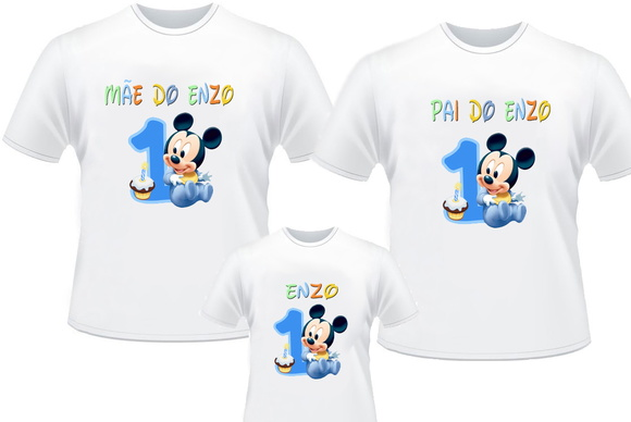 5e3f3dd9a2 Kit 3 Camisetas Personalizadas Minnie 1 No Elo7 Estilo Ah Camisetas ...