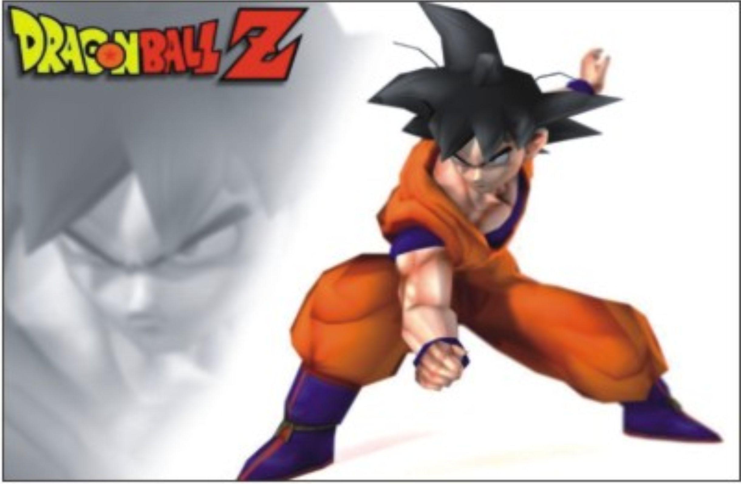 Wallpaper Goku 3d Painel Dragon Ball Z Utilifest Elo7